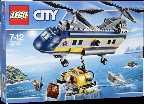 LEGO City 60093 Deep Sea Helicopter