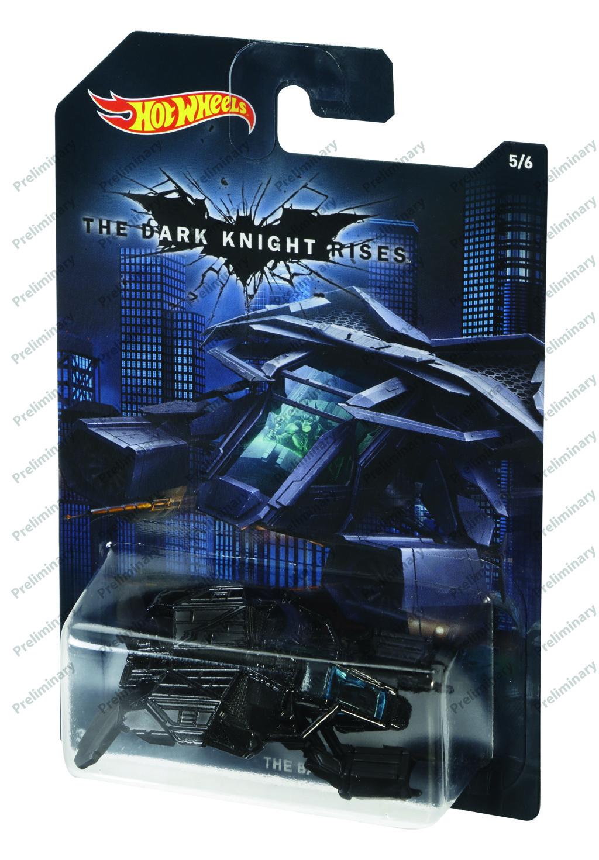 Hot Wheels tématické auto - DC Batman