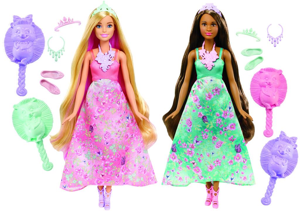 Barbie kouzelné barevné vlasy