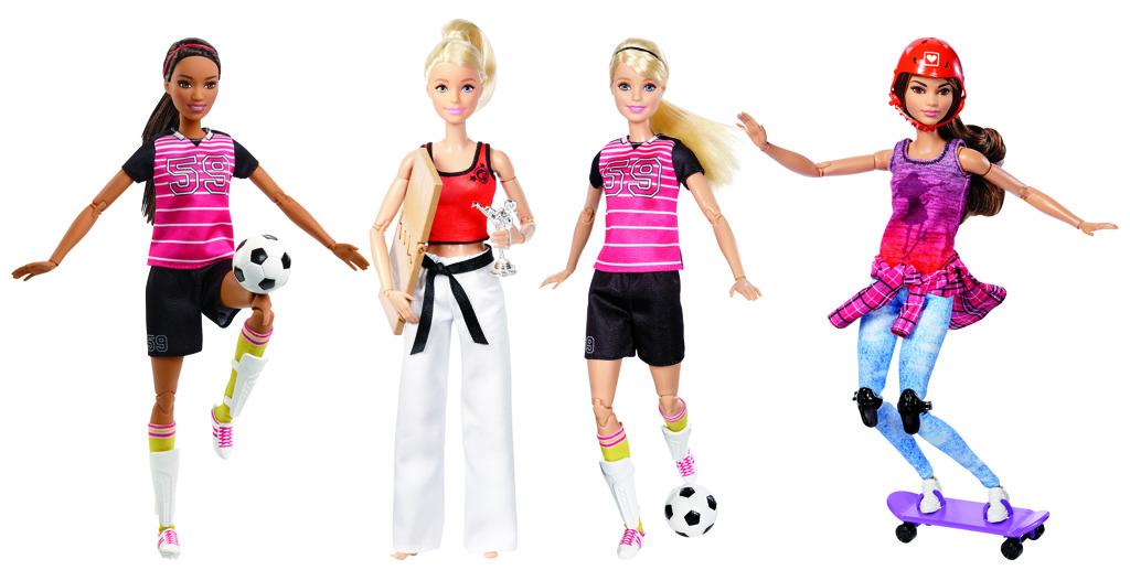 Barbie sportovkyně