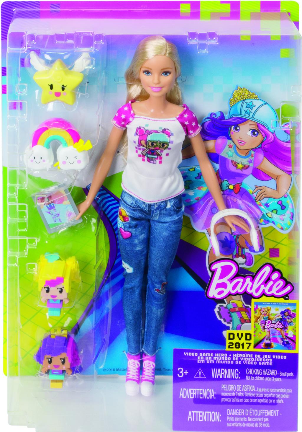 Barbie ve světě her s emoji