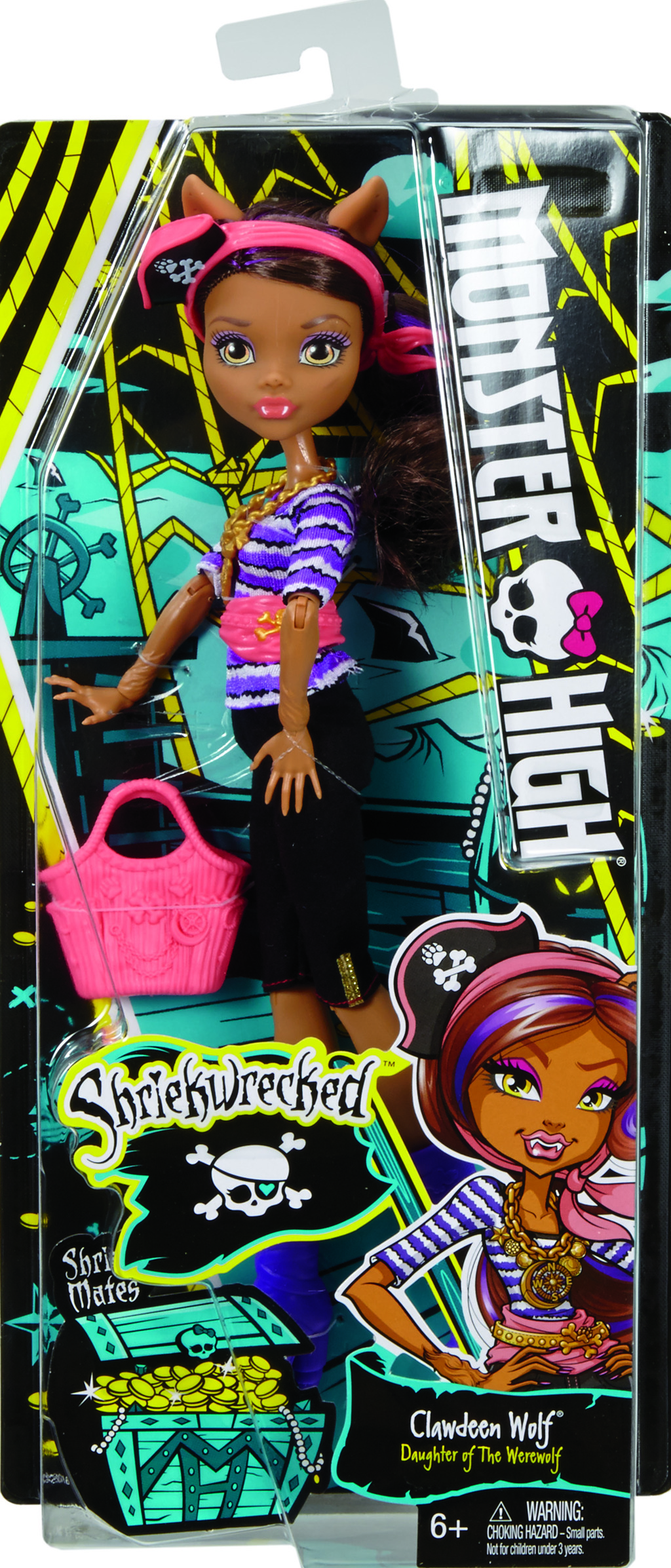 Monster High mořské ghúlky