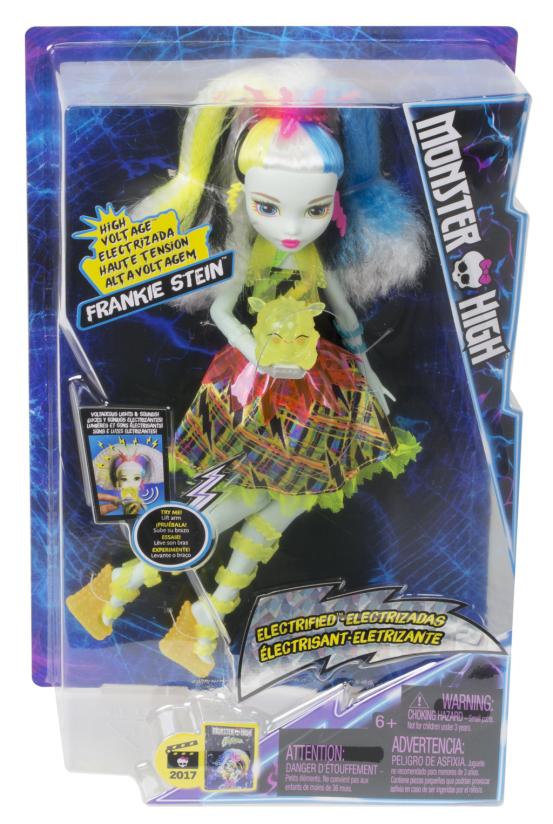 Monster High Frankie v monstrózním napětí