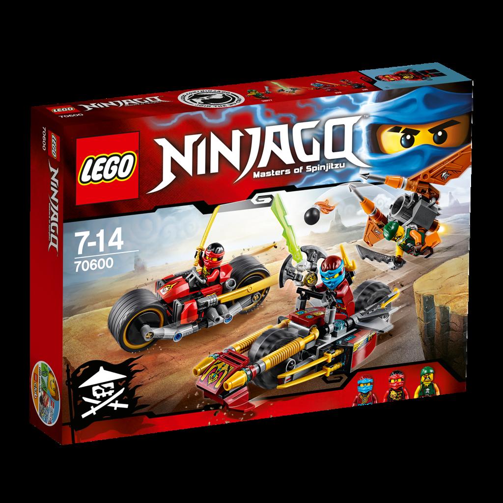 Lego Ninjago 70600 Ninja Bike Chase