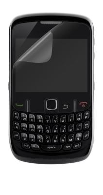 BELKIN Fólie Blackberry 8520 Curve, čirá, 3 ks