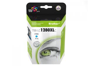 Ink. kazeta TB kompat. s Brother LC 1280XLC 100%N