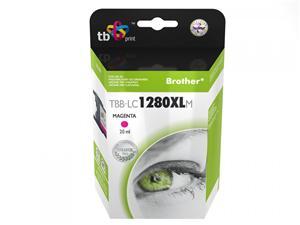 Ink. kazeta TB kompat. s Brother LC 1280XLM 100%N
