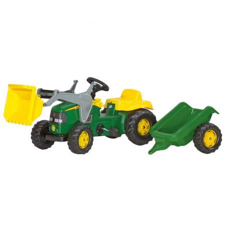 Traktor Rollytoys John Deere s přívěsem 023110