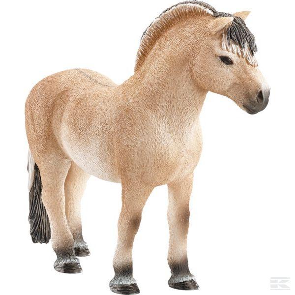 Schleich: hřebec Fjordského koně