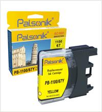 Palsonik 1100/67Y LC 1100Y Brother yellow, žlutá kompatibilní cartridge