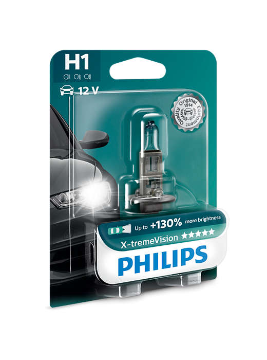 PHILIPS H1 X-tremeVision 1 ks