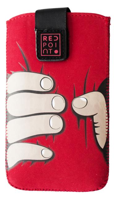 Pouzdro RedPoint Velvet Red Hand velikost 2XL