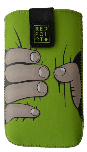 Pouzdro RedPoint Velvet Green Hand velikost 4XL