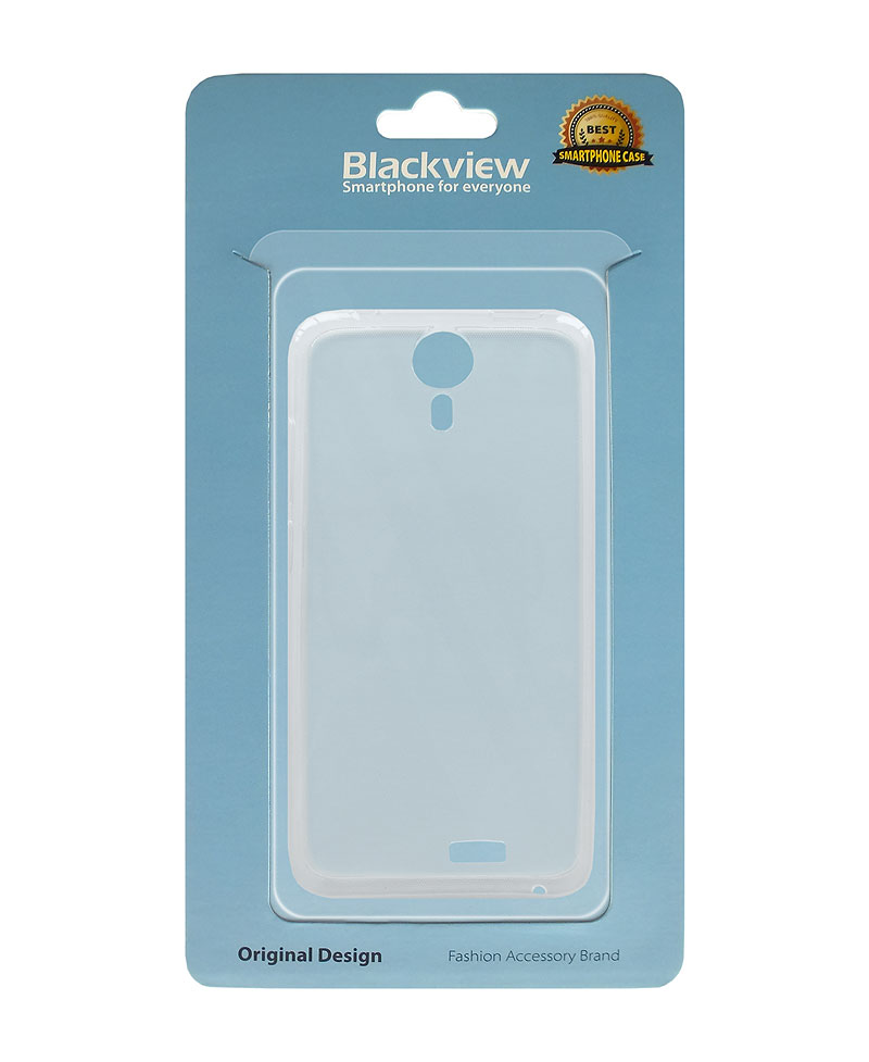 Silikonový obal pro iGET Blackview Eta - transpar.