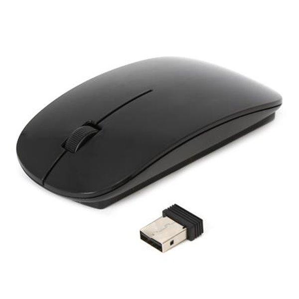 OMEGA bezdrátová myš OM-414, 1000DPI, černá perleť