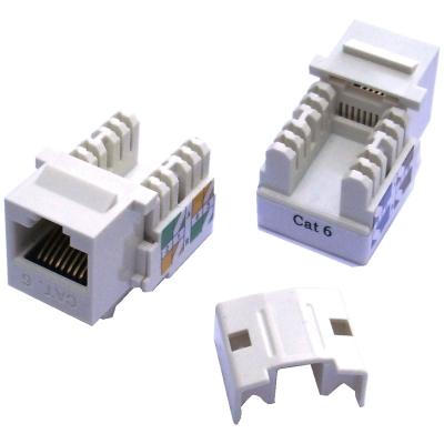 DATACOM Keystone cat6 white UTP