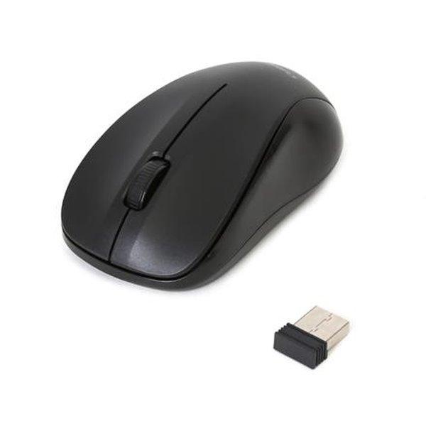 OMEGA bezdrátová myš OM-412, 1000DPI, černá