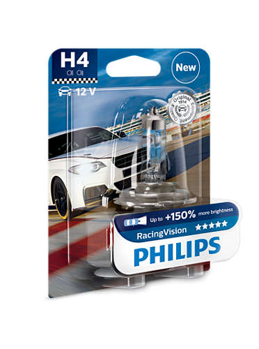 PHILIPS H4 RacingVision 1 ks