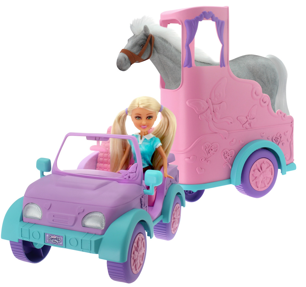 Přívěs pro koně Sparkle Girlz
