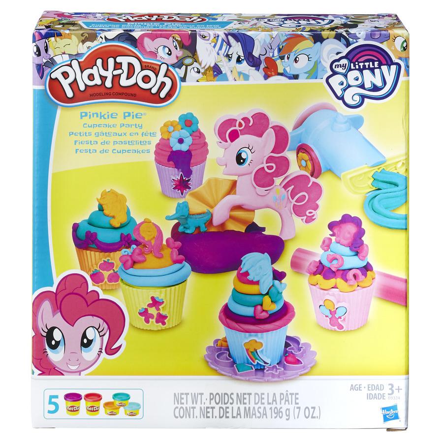 Play Doh MLP Pinkie Pie a dortíčková oslava