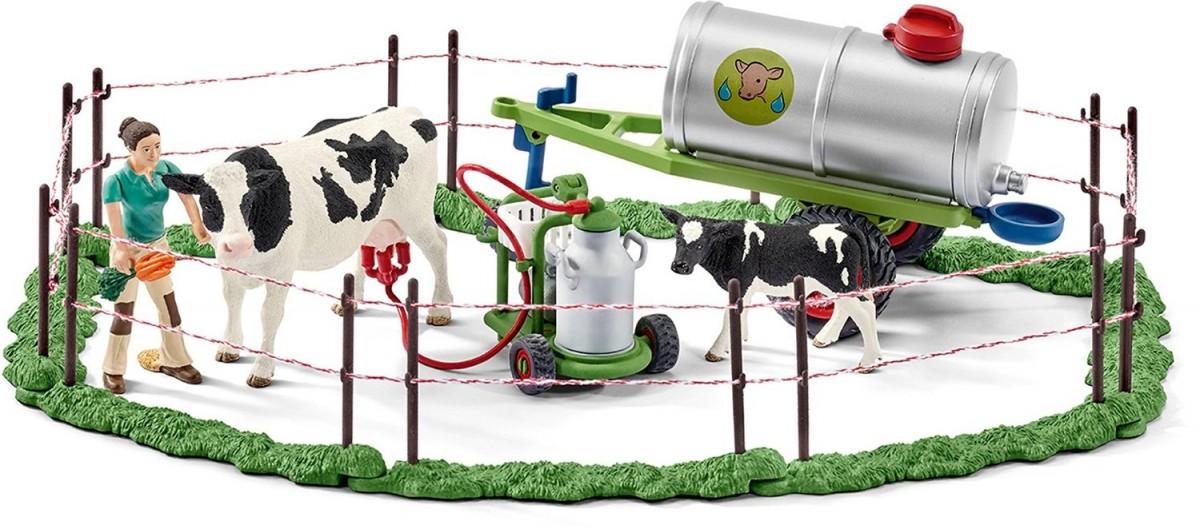 Schleich Krávy na pastvině 41428