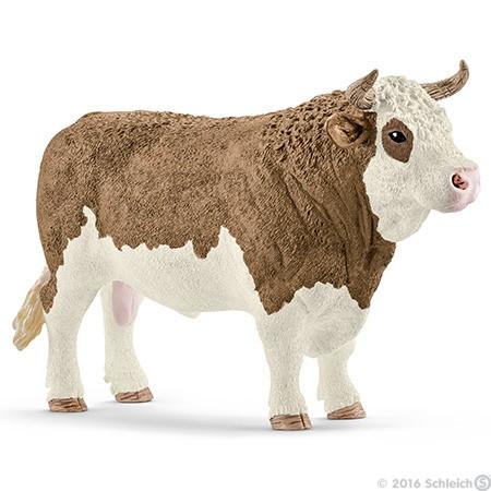 Schleich 13800 Simmental Bull