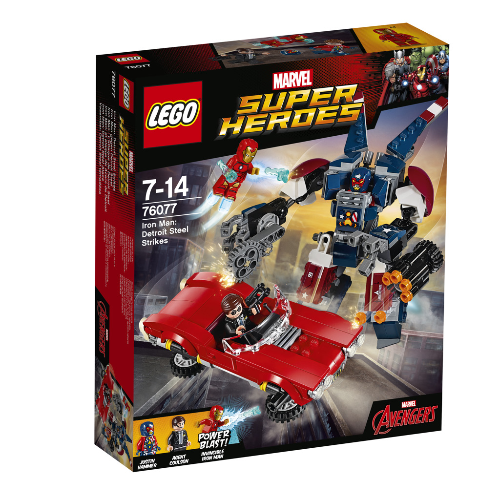 LEGO Super Heroes Iron Man: Robot z detroitských oceláren