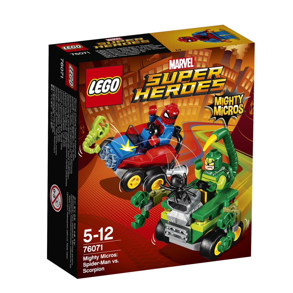 LEGO Super Heroes Mighty Micros: Spiderman vs. Škorpion