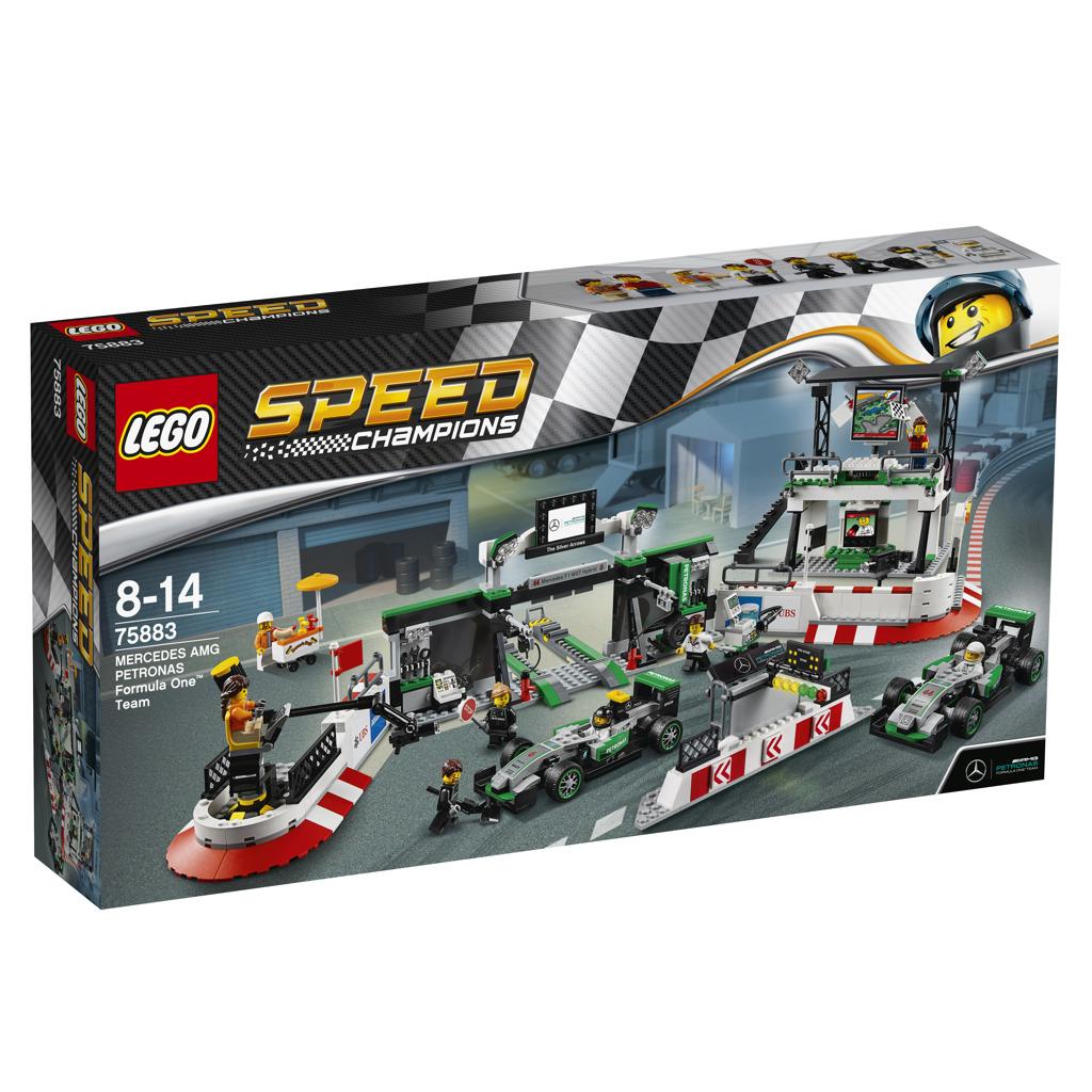LEGO Speed Champions 75883 Mercedes AMG Petronas Formel-1
