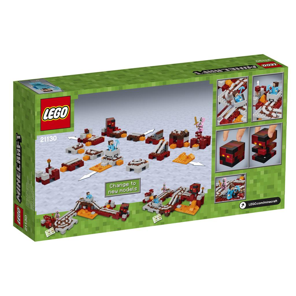 LEGO Minecraft Podzemní železnice