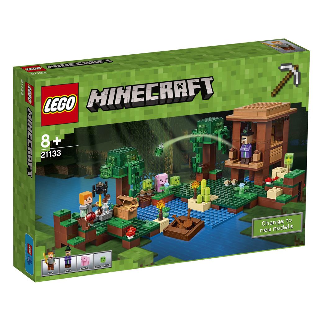 LEGO Minecraft Chýše čarodějnice