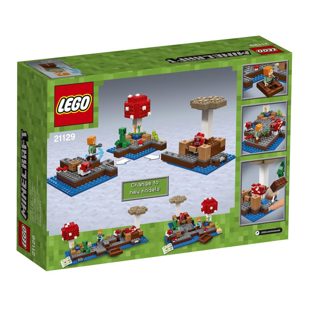 LEGO Minecraft Ostrov hub