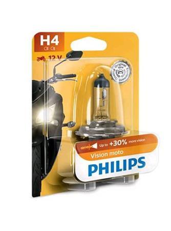 PHILIPS H4 Vision Moto 1 ks