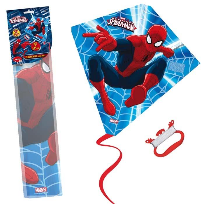Drak plastový Spiderman (58,5x56cm)