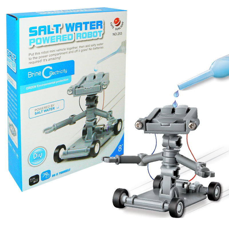 Robot na slanou vodu