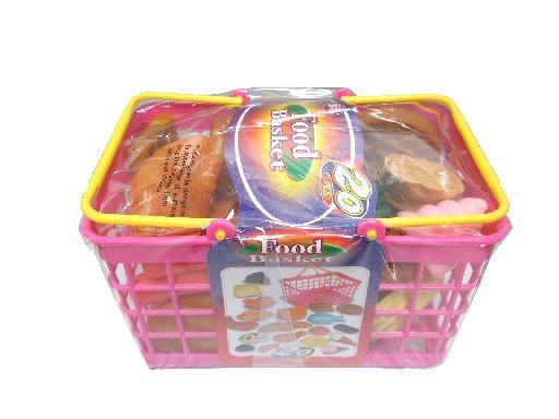 Plastový košík - jídlo