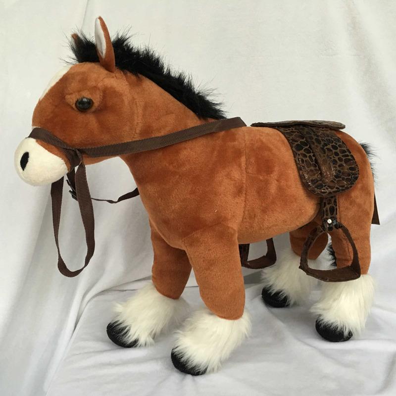 Plyšový Kůň hnědý 25 cm