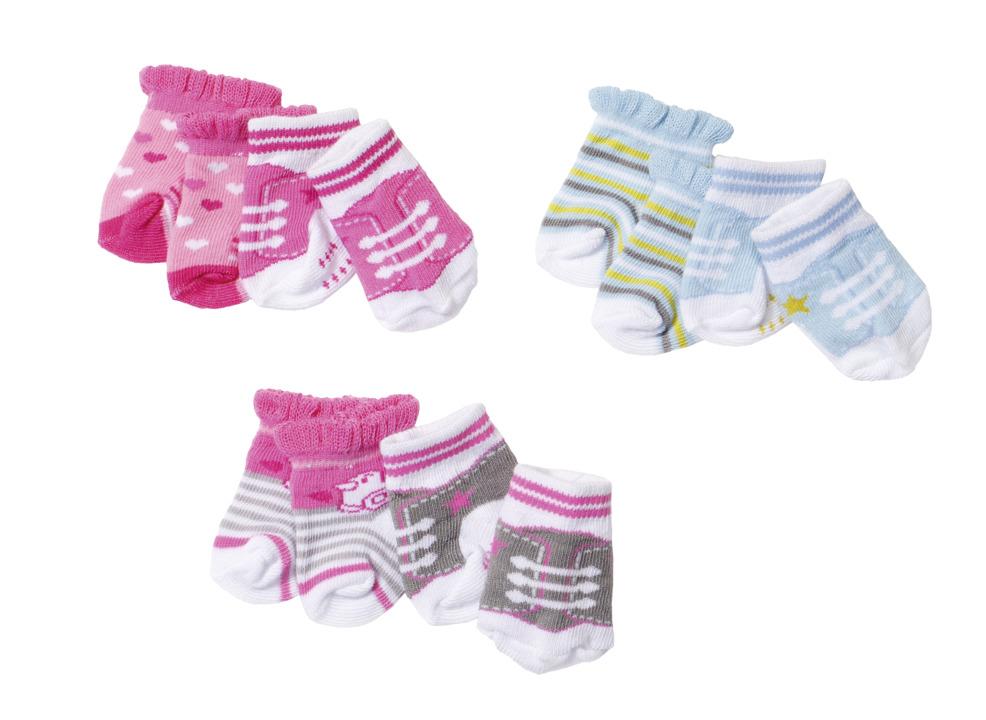 Baby born® Ponožky (2 páry), 3 druhy