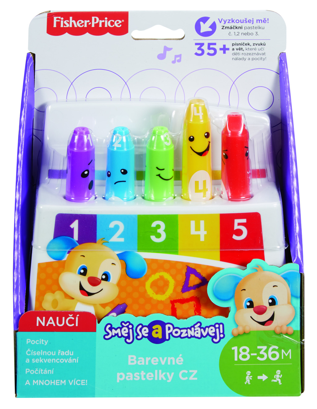Fisher Price barevné pastelky