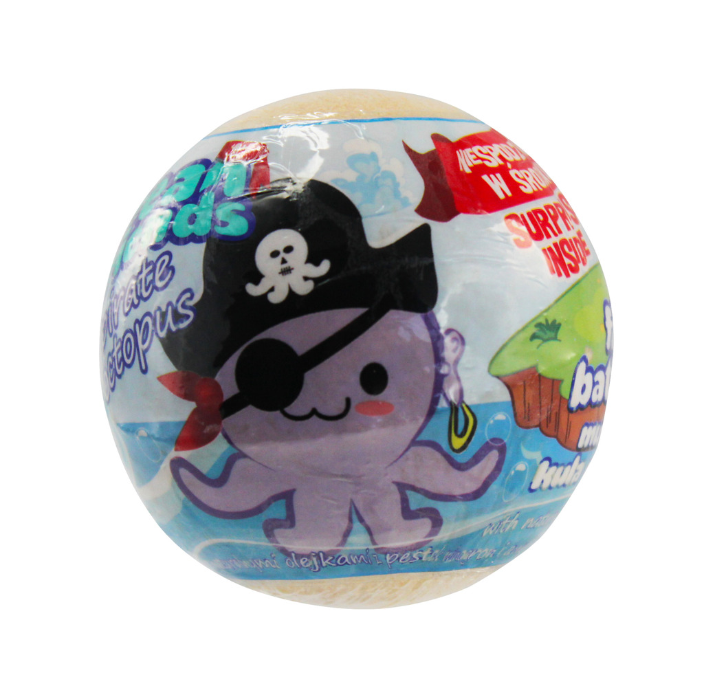 Pěna do koupele s figurkou Ocean friends pirate 140 g