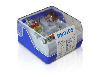 PHILIPS H1 náhradní sada 12V