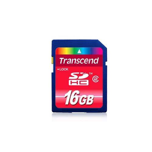 Paměťová karta TRANSCEND 16G SDHC (SD2.0 Class 4) memory card