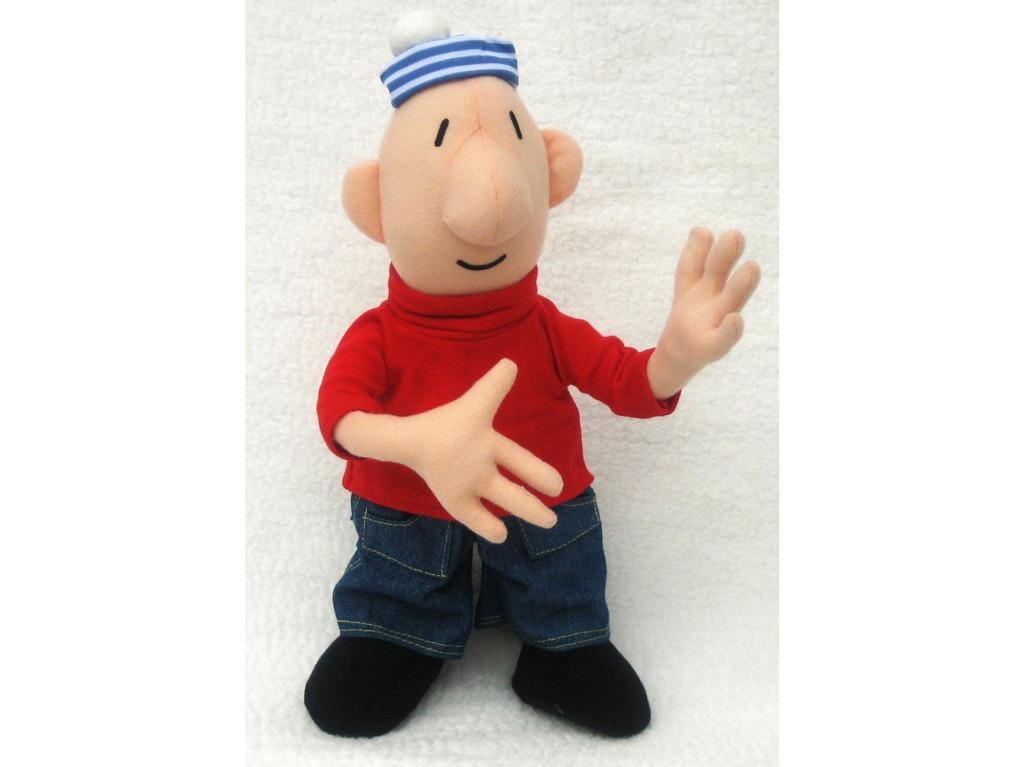 Plyšová figurka 35cm červená Mat