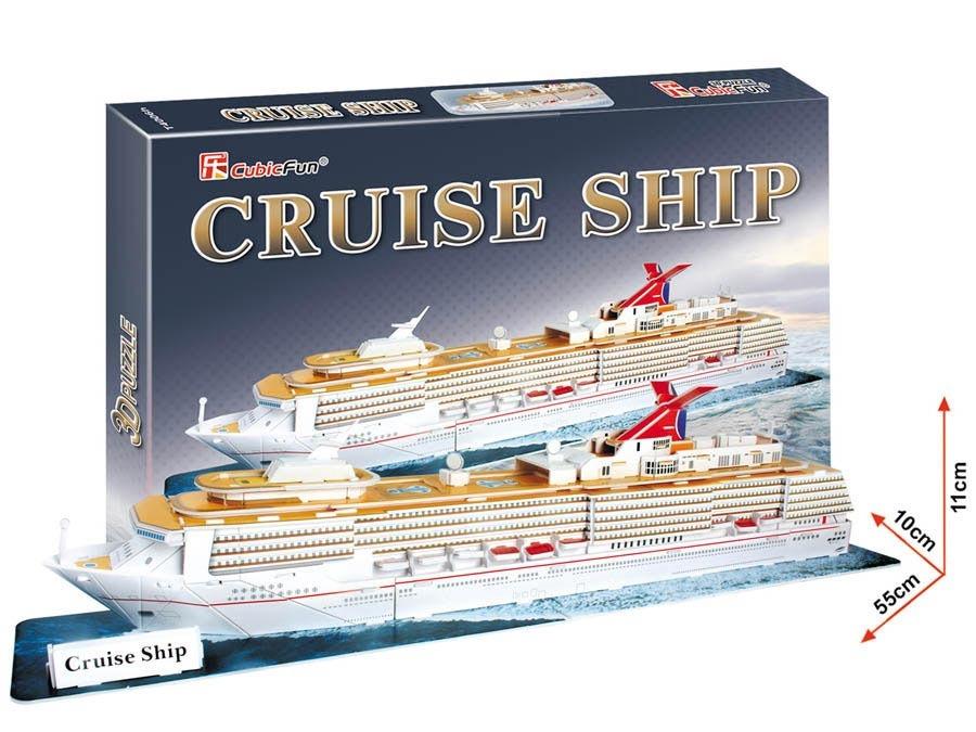Puzzle 3D Výletní loď - 86 dílků