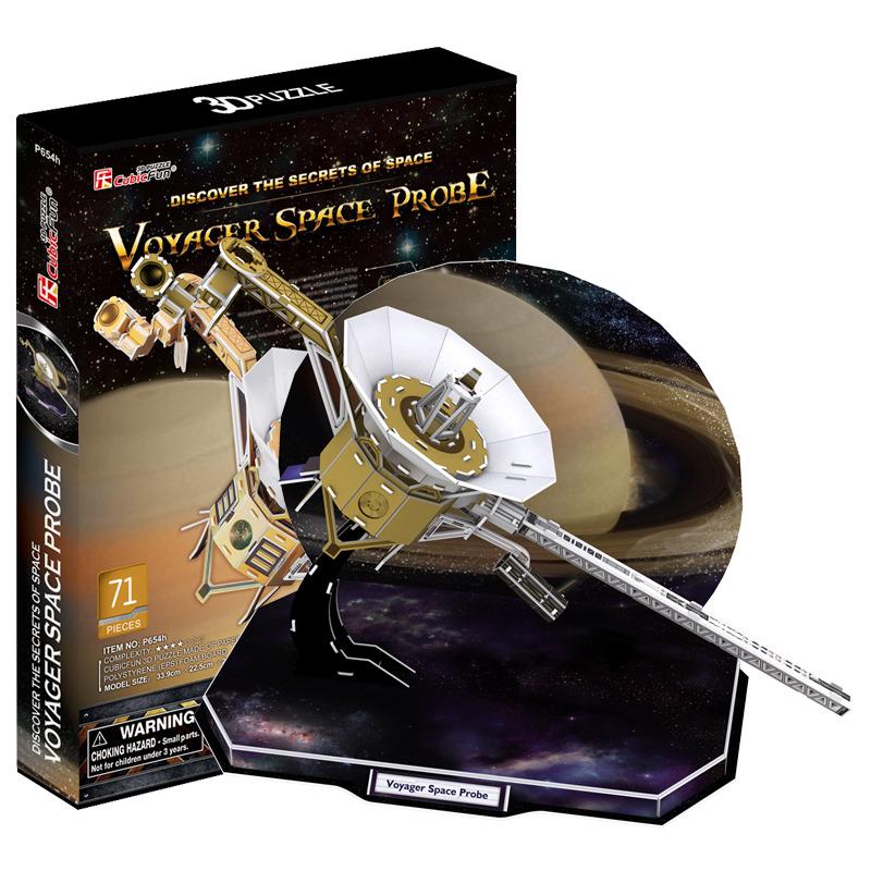 Puzzle 3D družice Voyager
