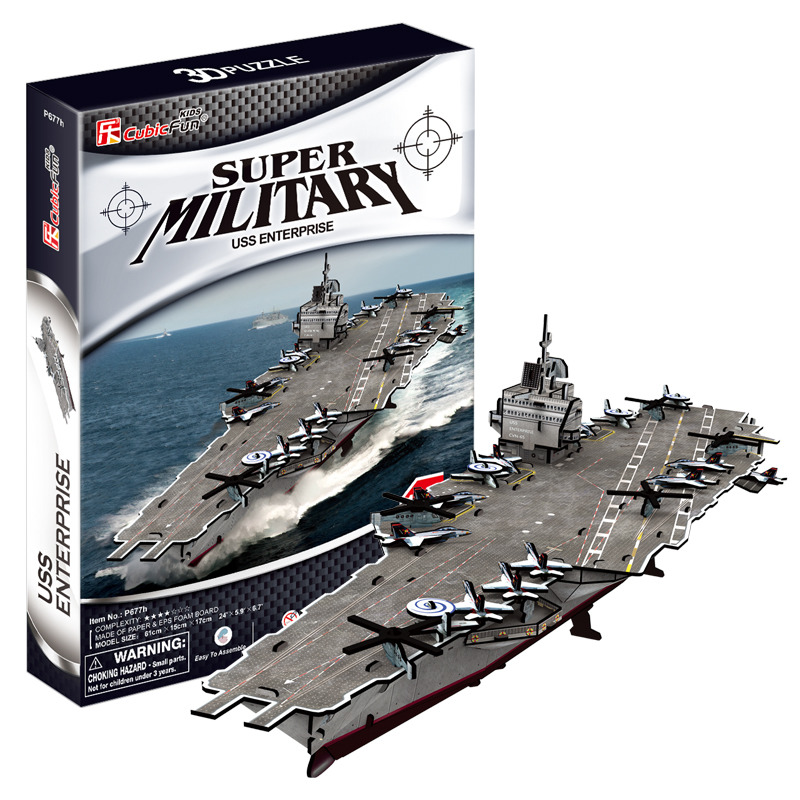 Puzzle 3D USS Enterprise