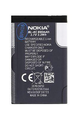 Nokia baterie BL-4C Li-Ion 890 mAh - bulk