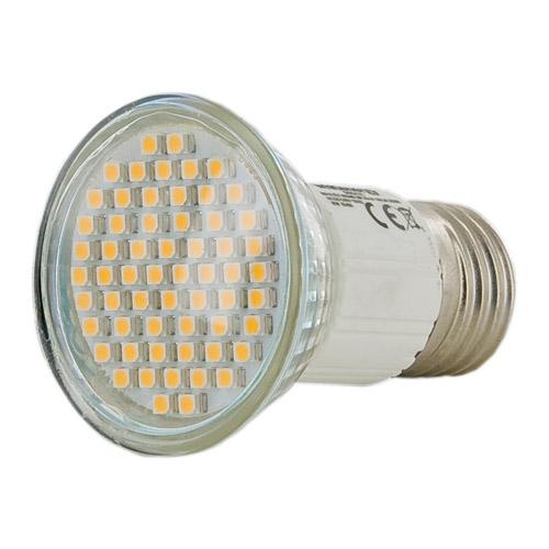 Whitenergy LED žárovka | E27 | 60 SMD 3528 | 3W | 230V| teplá bílá| reflektorová