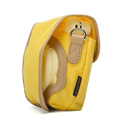 Fujifilm Instax Mini 8 Case yellow + Strap