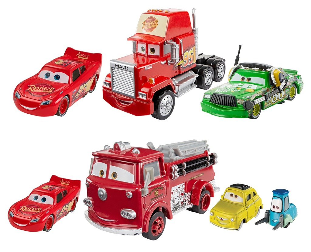Cars 3 auta 3 ks